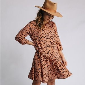 Clad and Cloth Dresses - Animal Print Dress